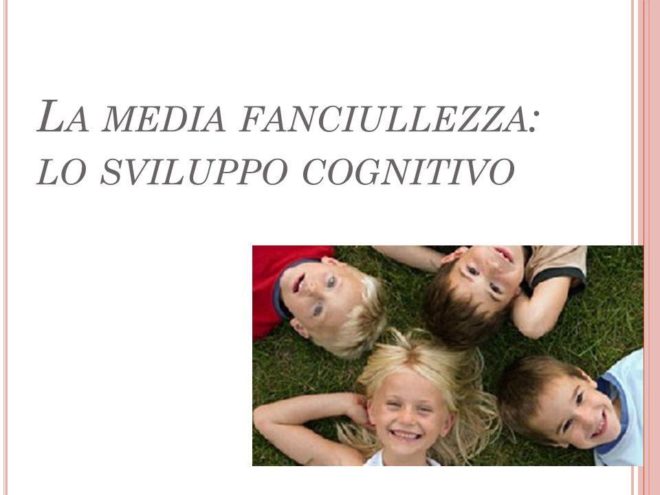 La media fanciullezza: lo sviluppo cognitivo