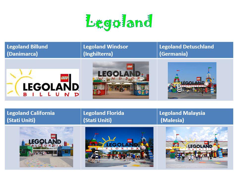 Legoland Legoland Billund (Danimarca) Legoland Windsor (Inghilterra)