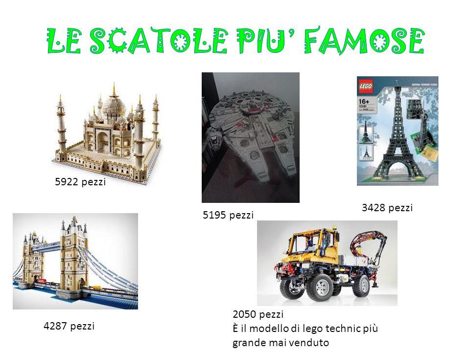 LE SCATOLE PIU' FAMOSE 5922 pezzi 3428 pezzi 5195 pezzi 2050 pezzi