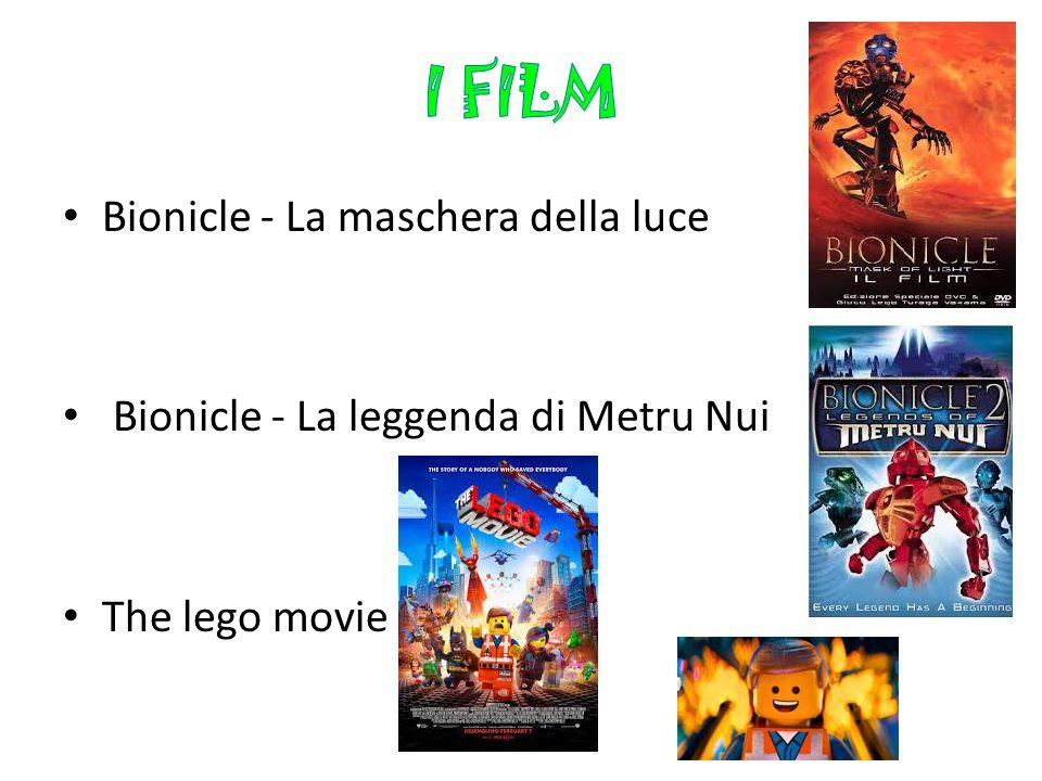 I FILM Bionicle - La maschera della luce
