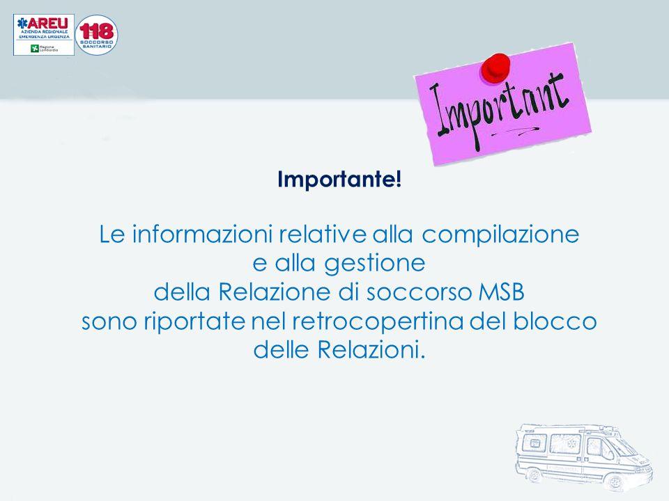 Le informazioni relative alla compilazione e alla gestione