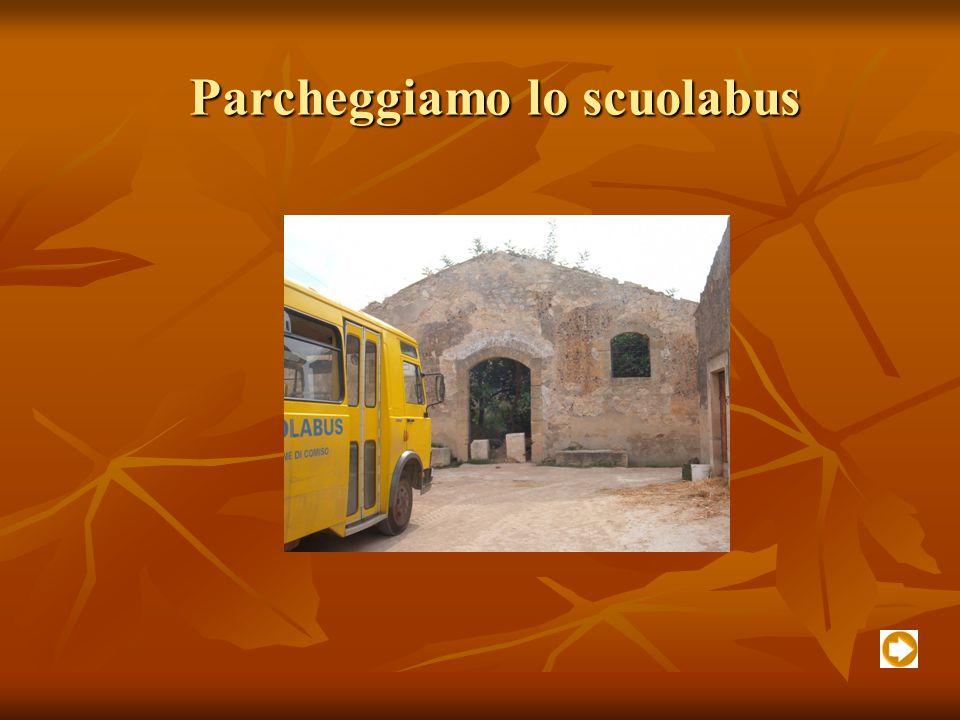 Parcheggiamo lo scuolabus