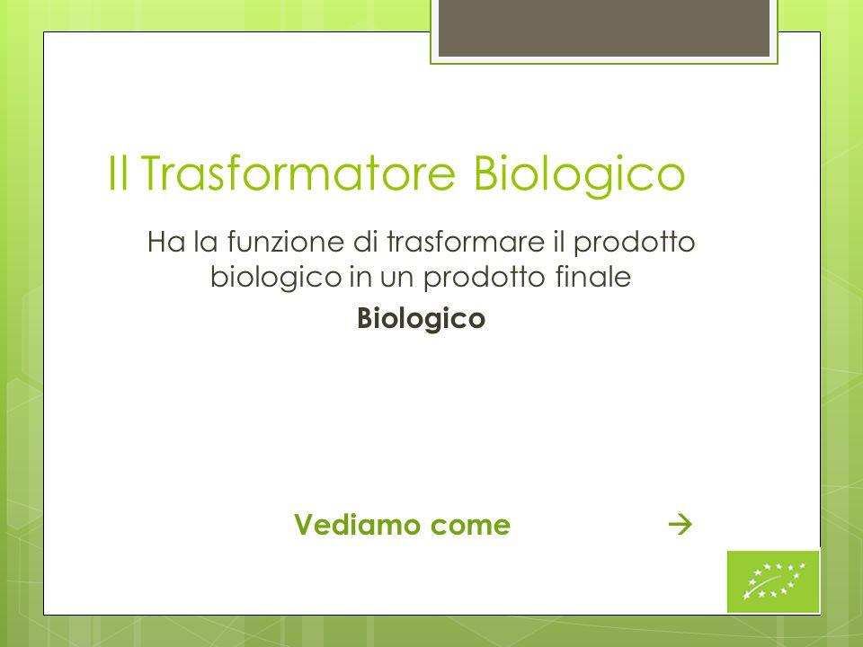 Il Trasformatore Biologico
