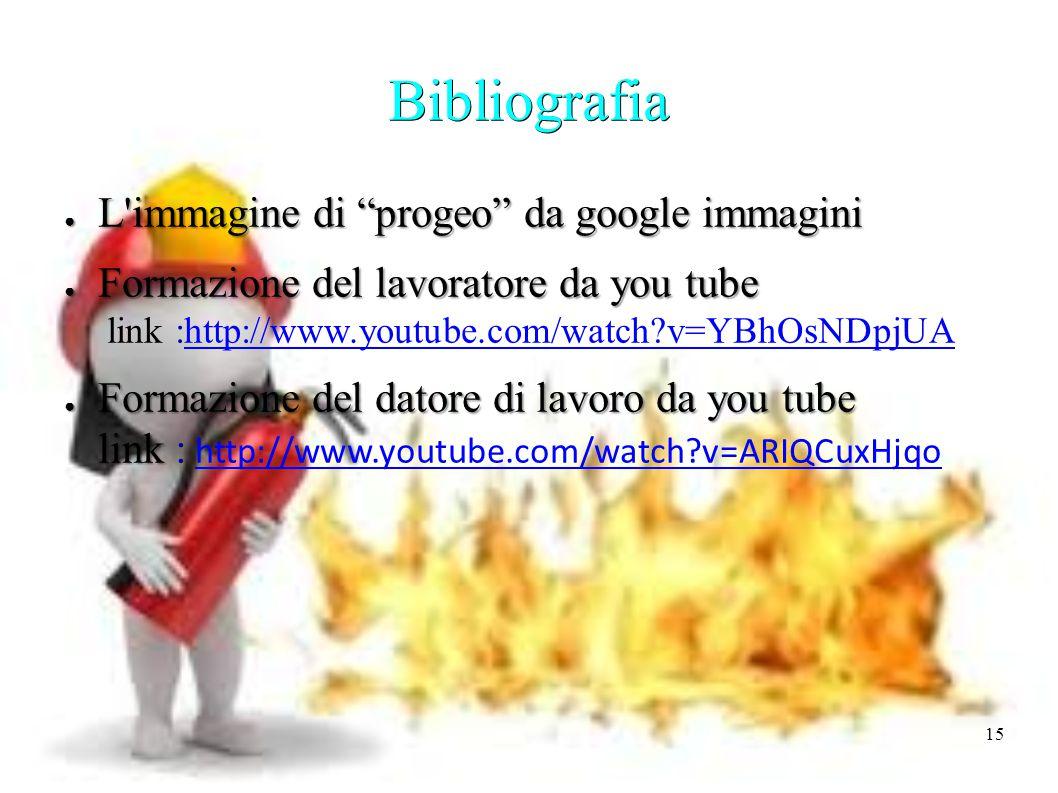Bibliografia L immagine di progeo da google immagini
