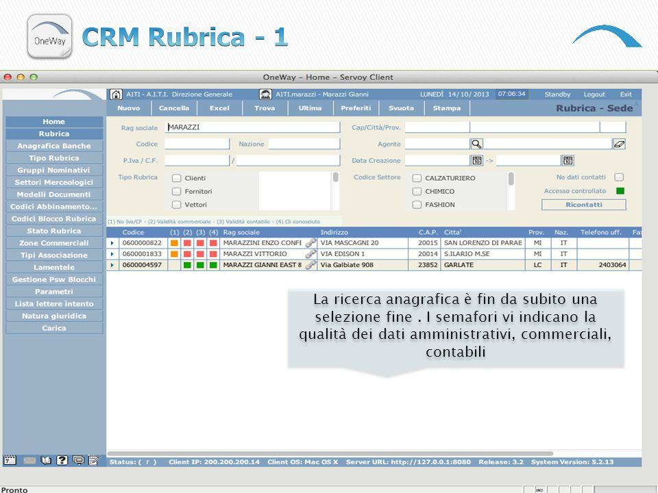 CRM Rubrica - 1