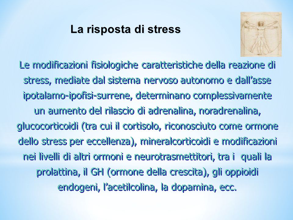 La risposta di stress