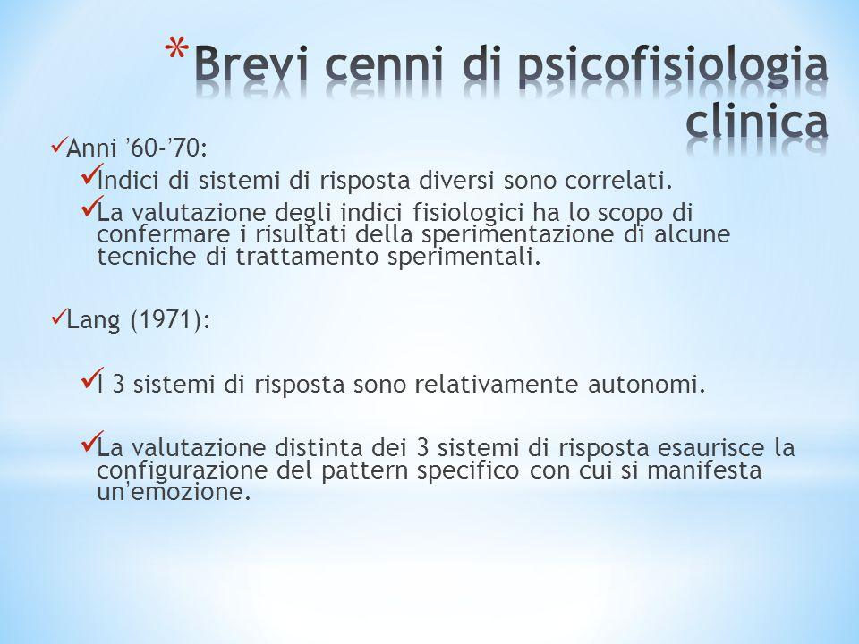 Brevi cenni di psicofisiologia clinica