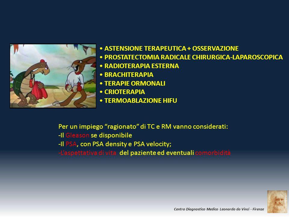 • ASTENSIONE TERAPEUTICA + OSSERVAZIONE