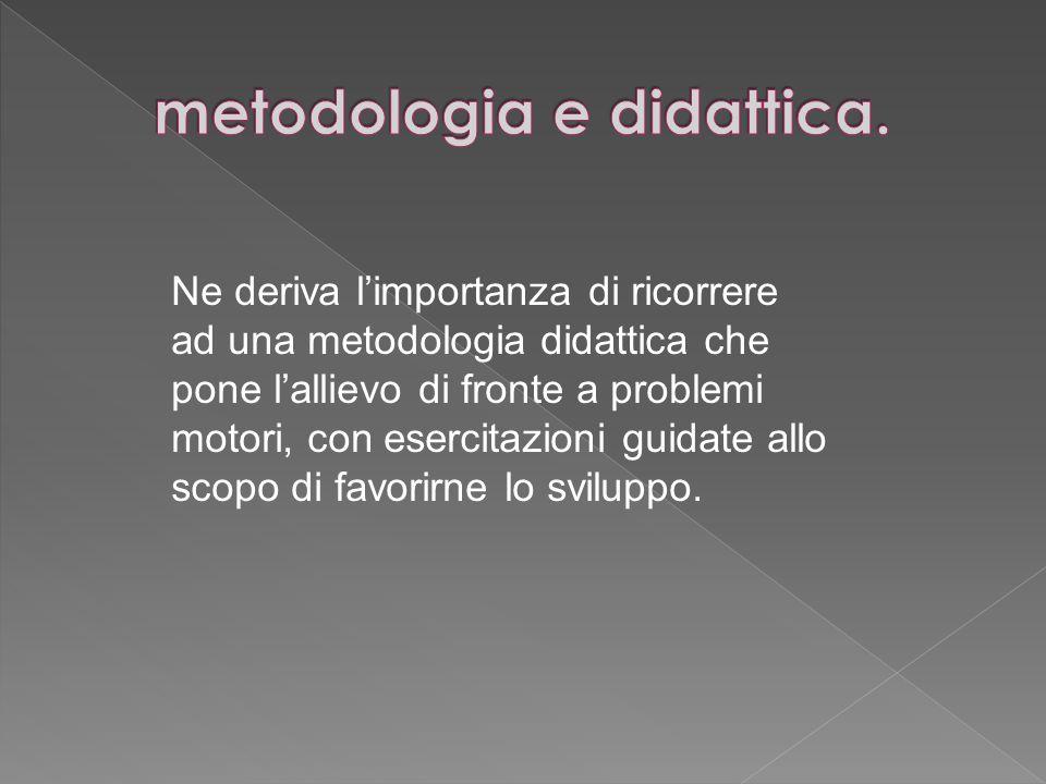 metodologia e didattica.