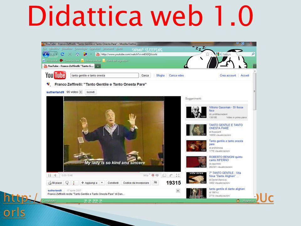 Lezione tradizionale Dante Alighieri