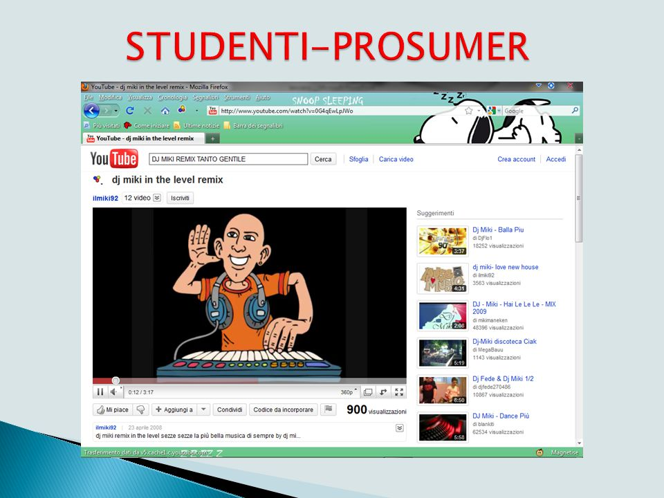 Didattica Web 2.0: studenti-prosumer