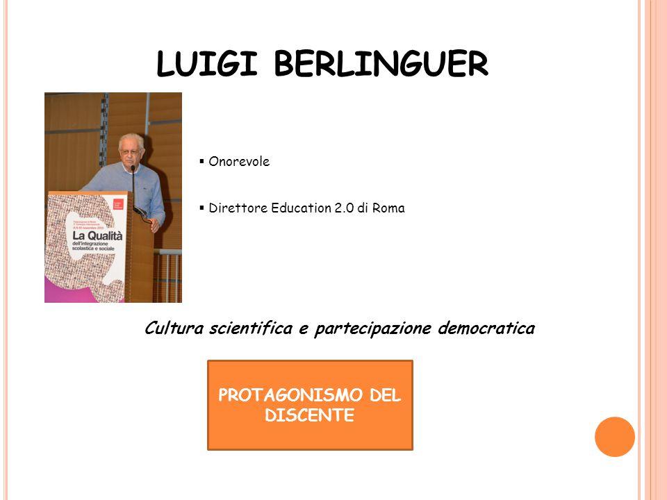 Cultura scientifica e partecipazione democratica