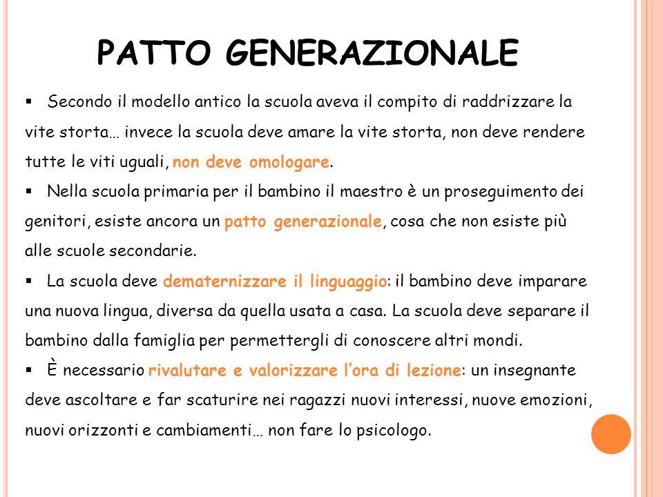 PATTO GENERAZIONALE