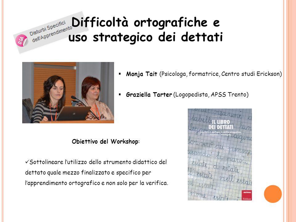 Difficoltà ortografiche e uso strategico dei dettati