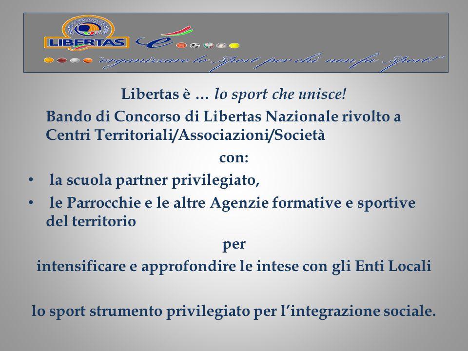 Libertas è … lo sport che unisce!