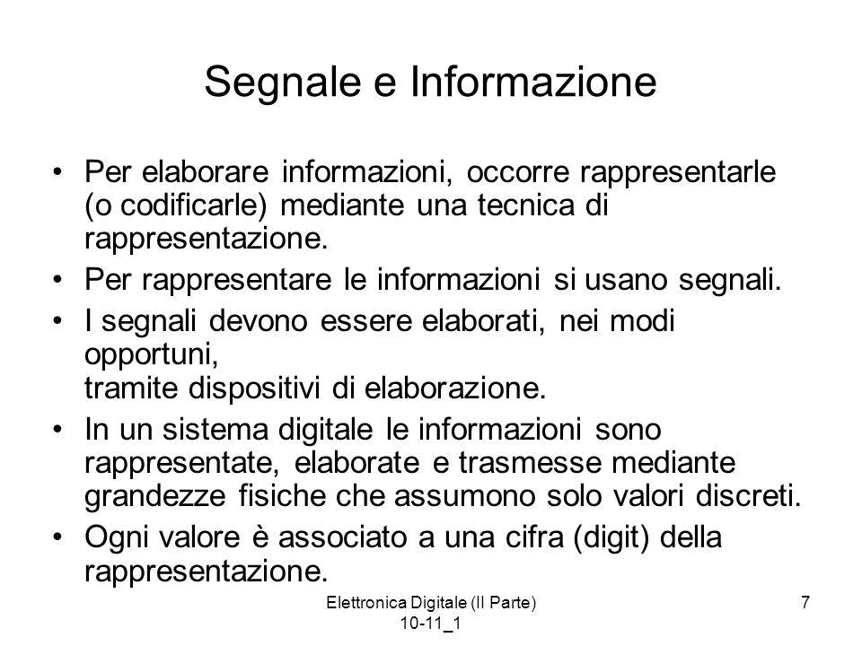 Segnale e Informazione