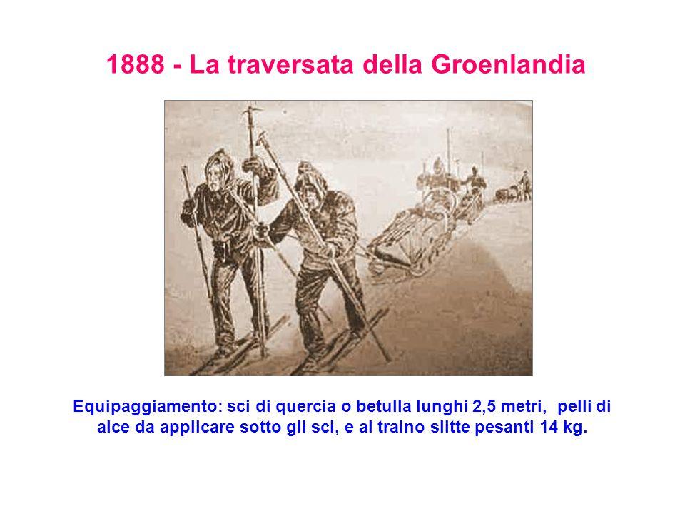 1888 - La traversata della Groenlandia
