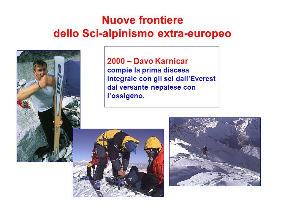Nuove frontiere dello Sci-alpinismo extra-europeo