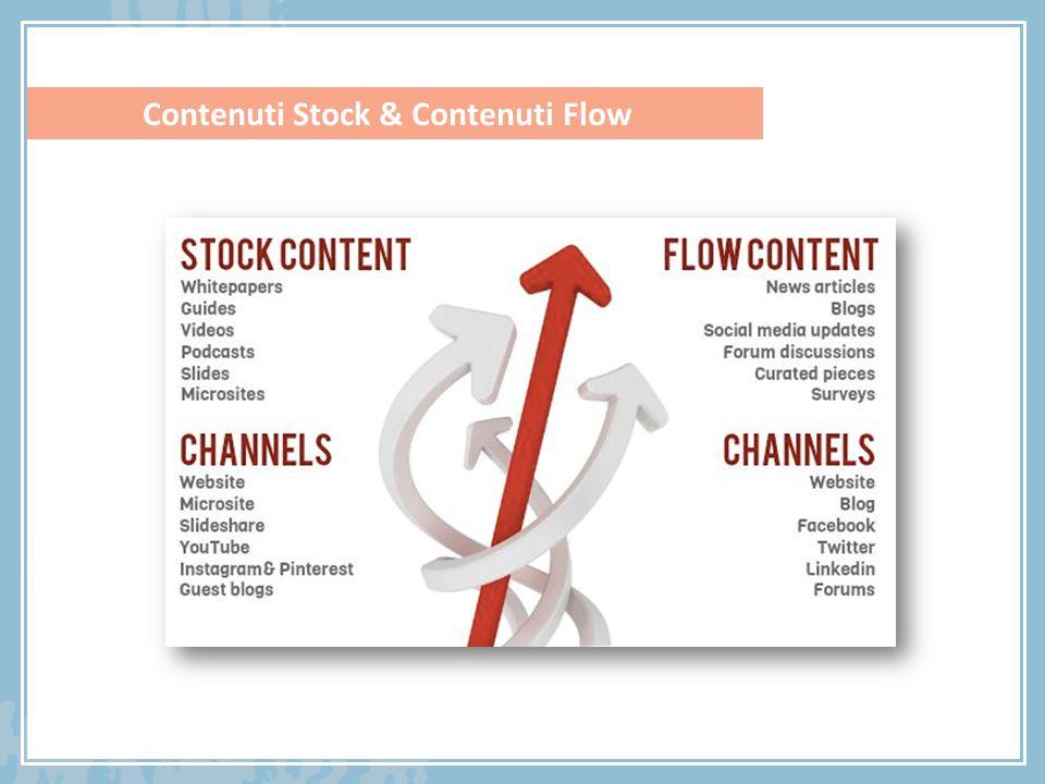 Contenuti Stock & Contenuti Flow