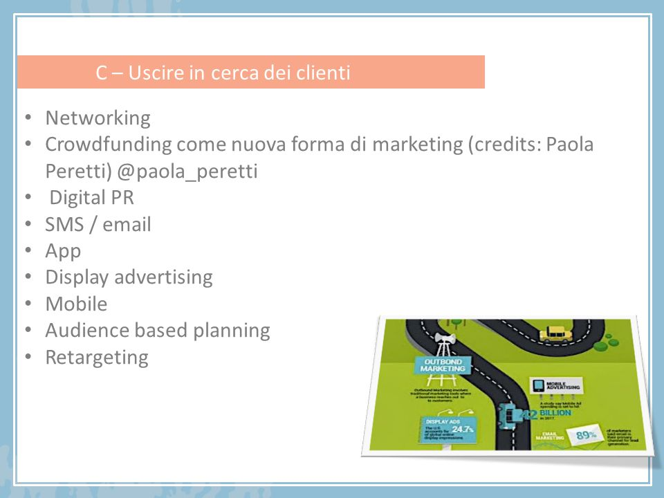 Networking Crowdfunding come nuova forma di marketing (credits: Paola Peretti) @paola_peretti. Digital PR.