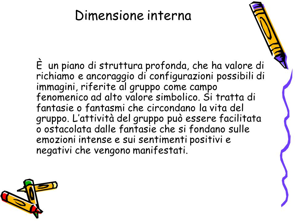 Dimensione interna