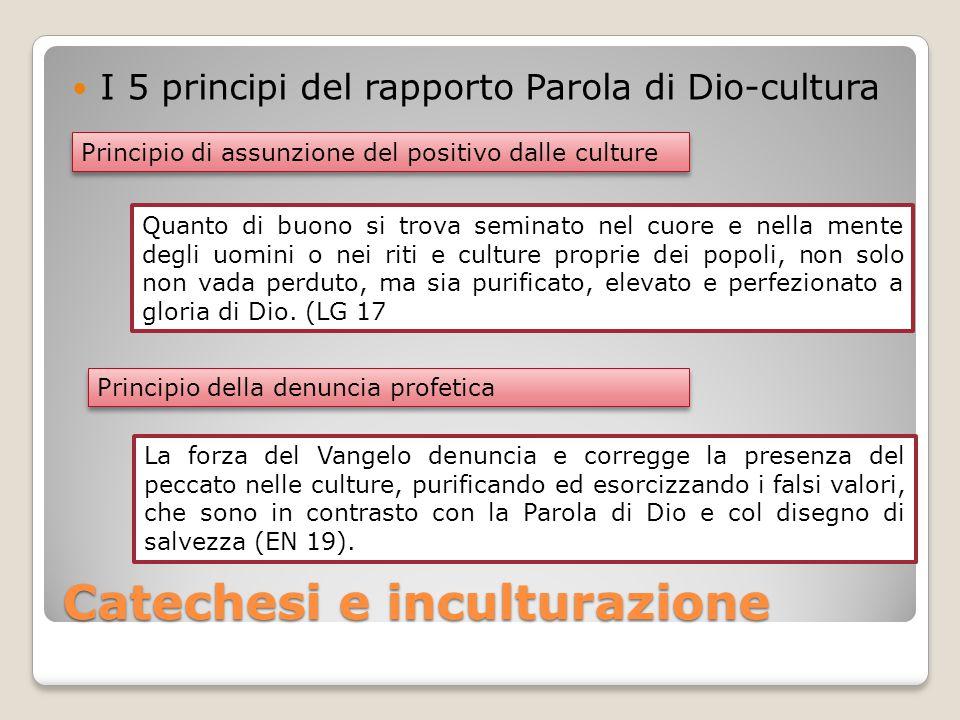 Catechesi e inculturazione
