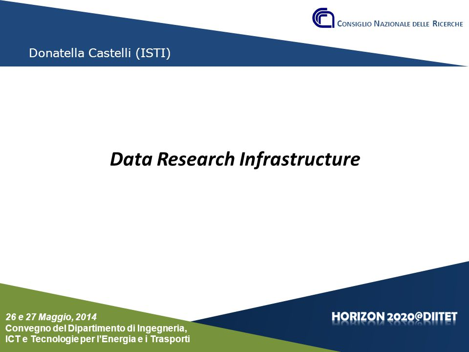 Data Research Infrastructure