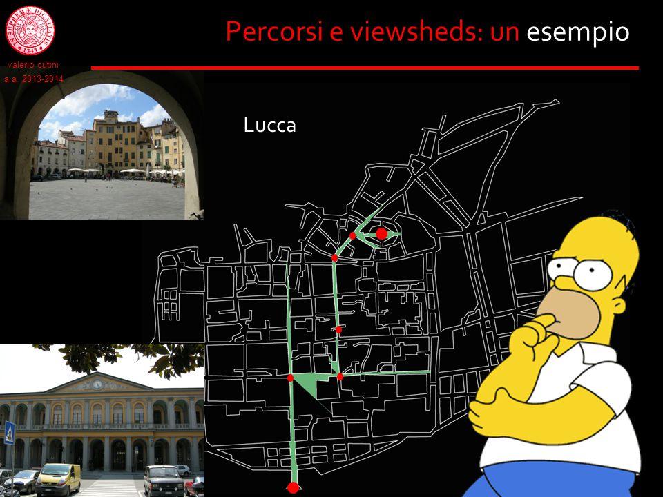 Percorsi e viewsheds: un esempio