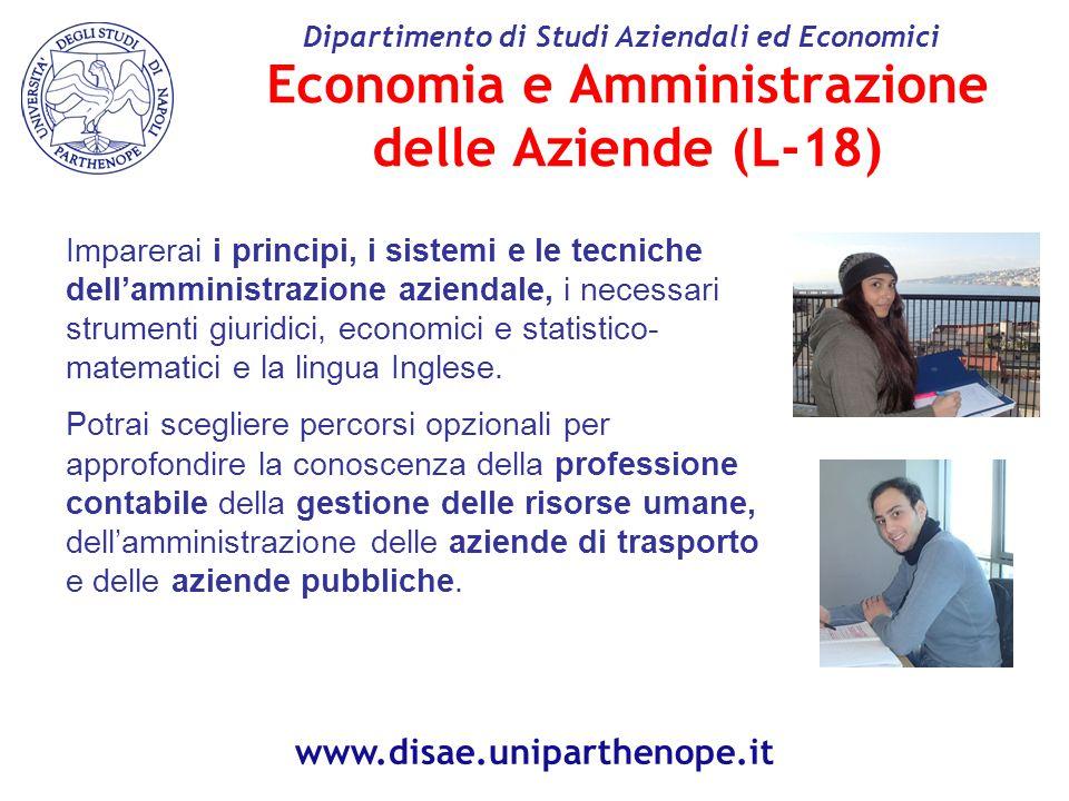 Economia e Amministrazione delle Aziende (L-18)