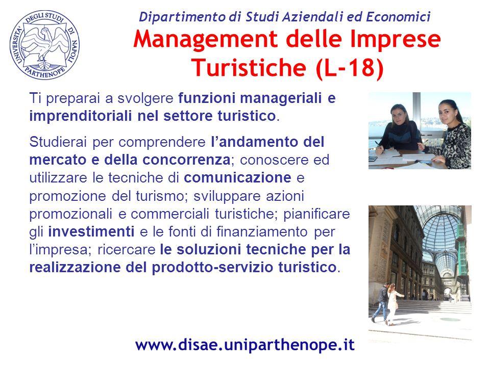 Management delle Imprese Turistiche (L-18)