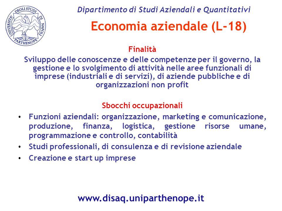 Economia aziendale (L-18)