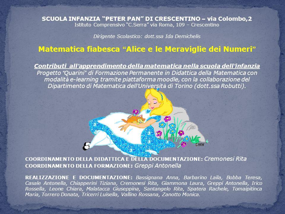 Matematica fiabesca Alice e le Meraviglie dei Numeri