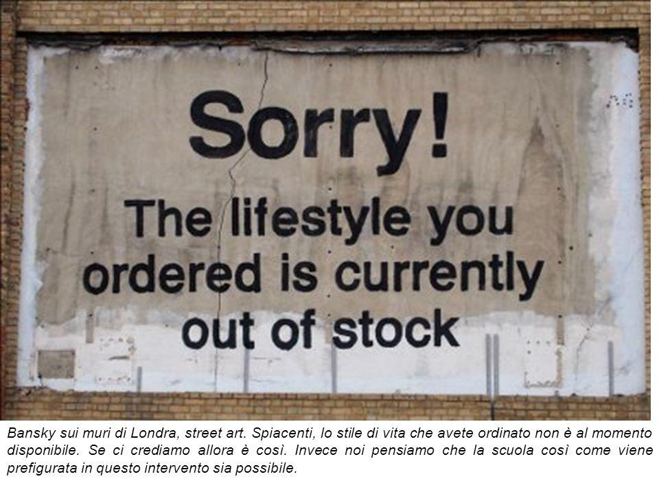 Bansky sui muri di Londra, street art