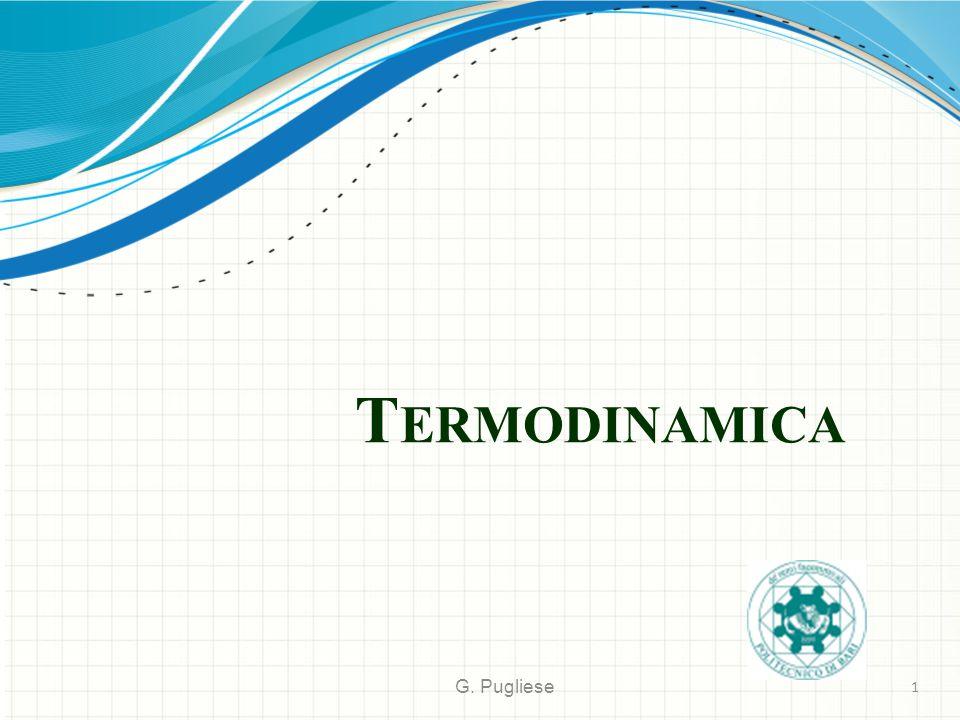 Termodinamica G. Pugliese