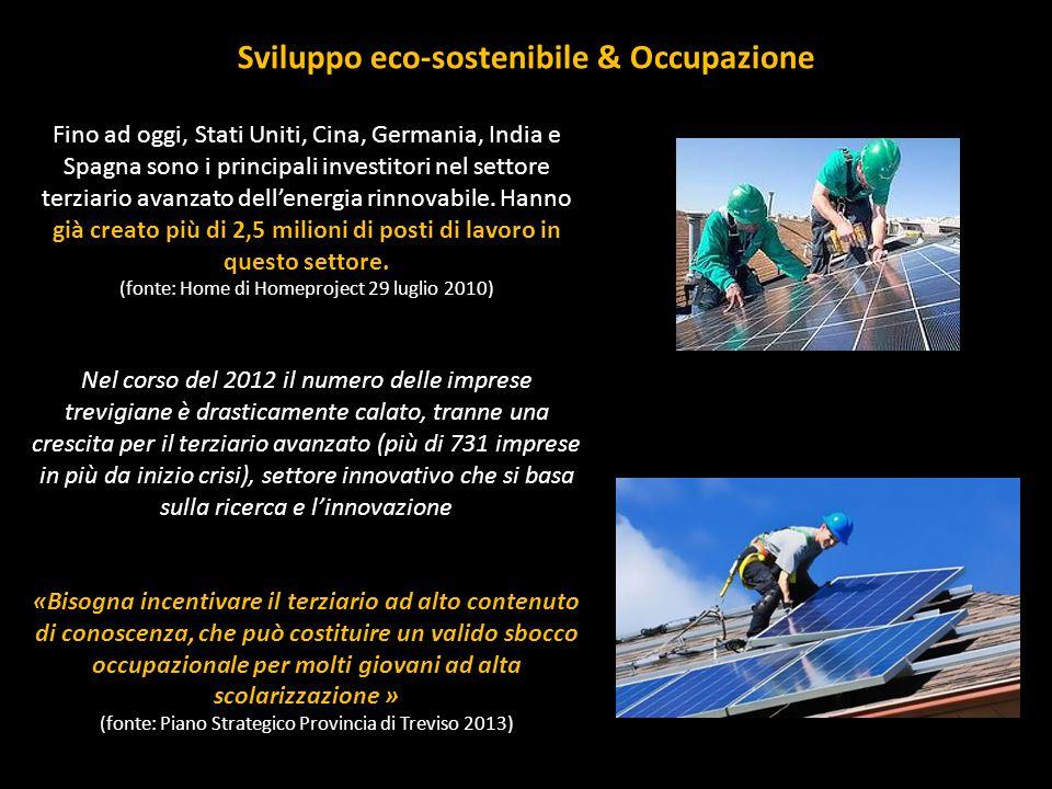Sviluppo eco-sostenibile & Occupazione