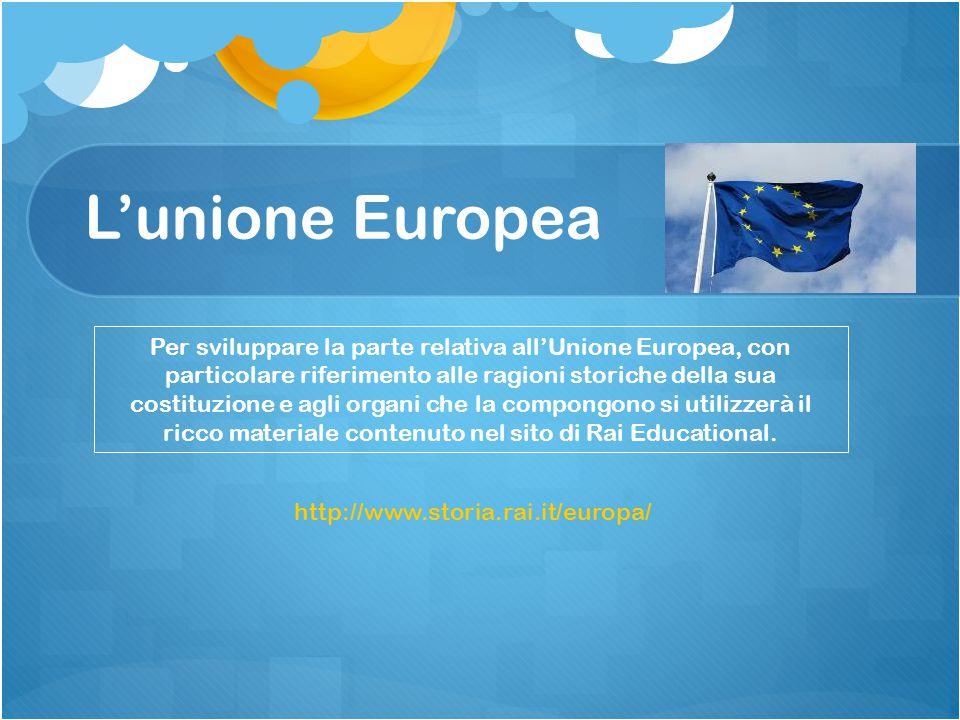 L'unione Europea