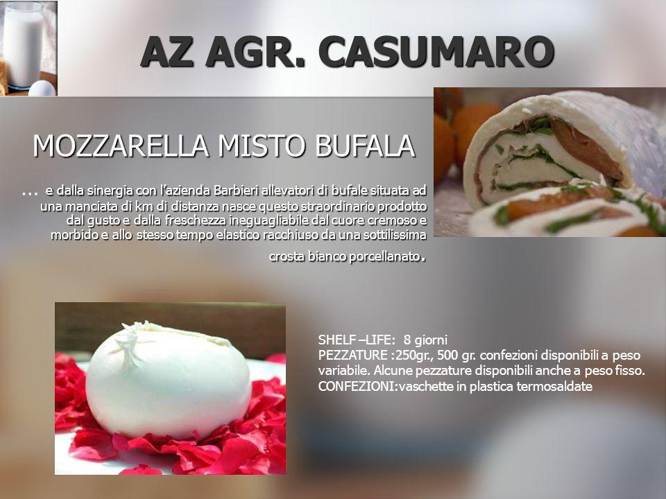 MOZZARELLA MISTO BUFALA