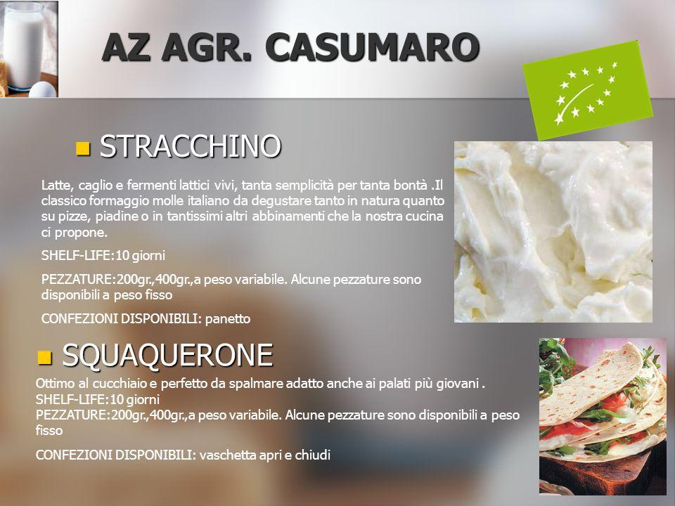 AZ AGR. CASUMARO STRACCHINO SQUAQUERONE