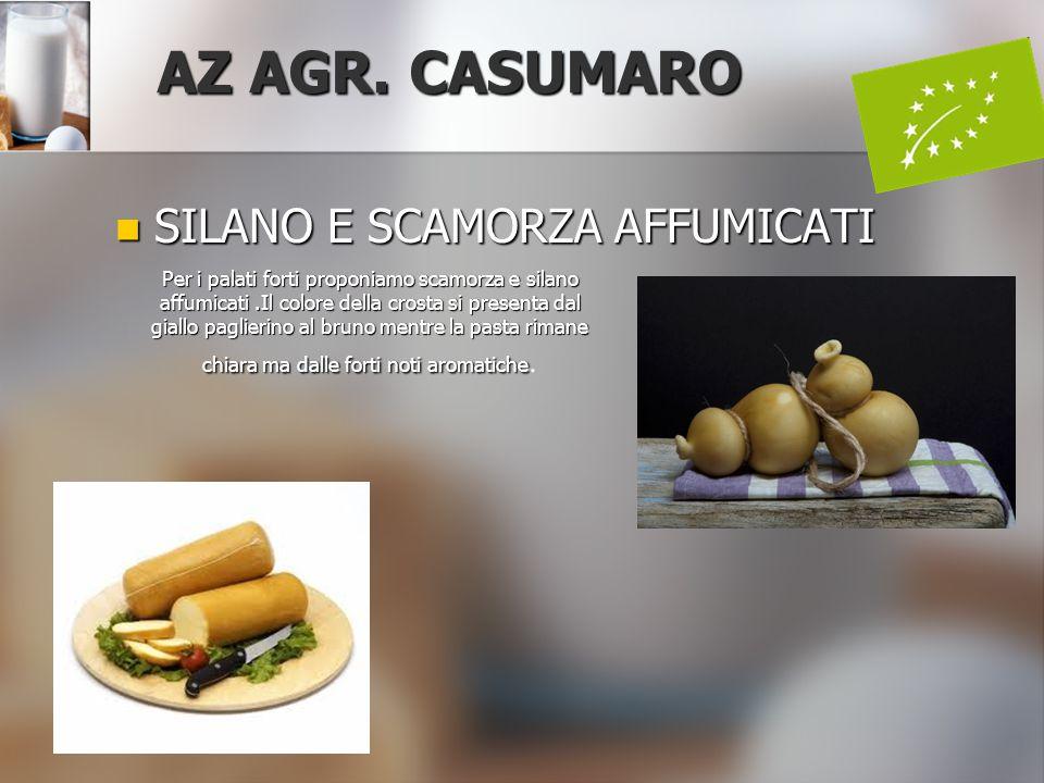 AZ AGR. CASUMARO SILANO E SCAMORZA AFFUMICATI