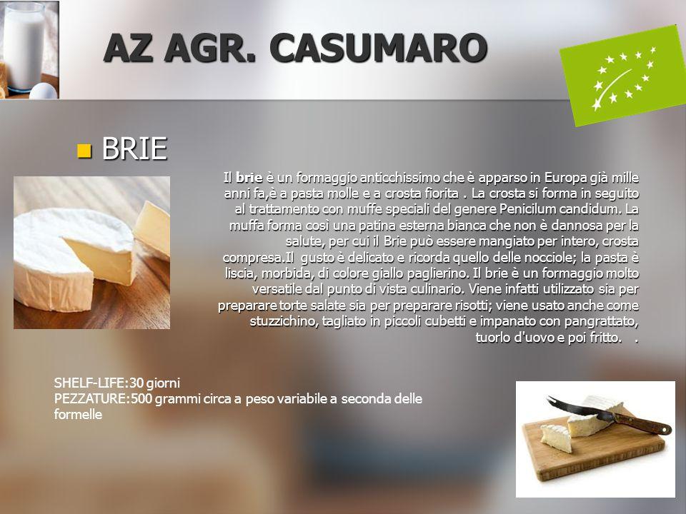 AZ AGR. CASUMARO BRIE.