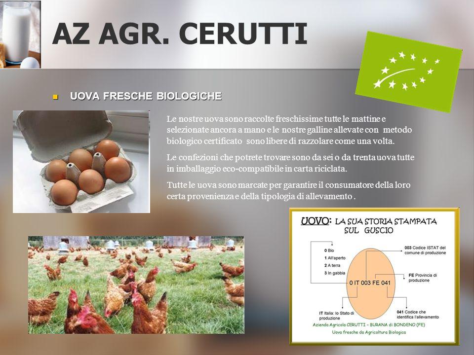 AZ AGR. CERUTTI UOVA FRESCHE BIOLOGICHE