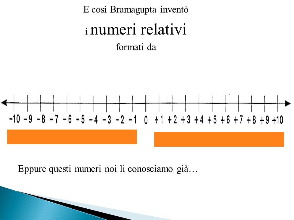 E così Bramagupta inventò