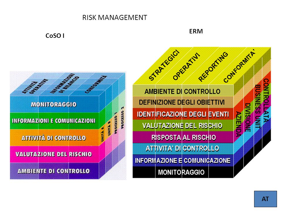 RISK MANAGEMENT ERM CoSO I AT