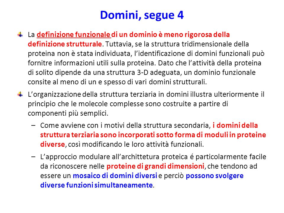 Domini, segue 4