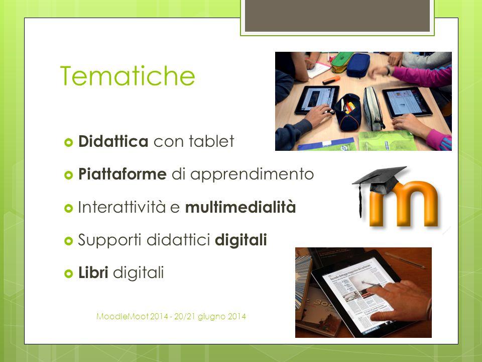 Tematiche Didattica con tablet Piattaforme di apprendimento