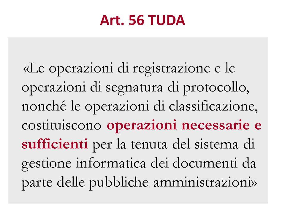 Art. 56 TUDA