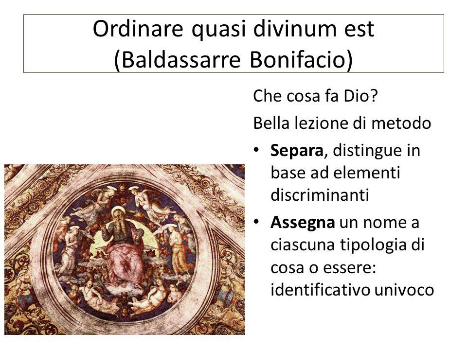 Ordinare quasi divinum est (Baldassarre Bonifacio)
