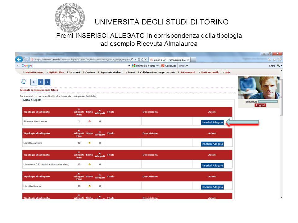 UNIVERSITÀ DEGLI STUDI DI TORINO
