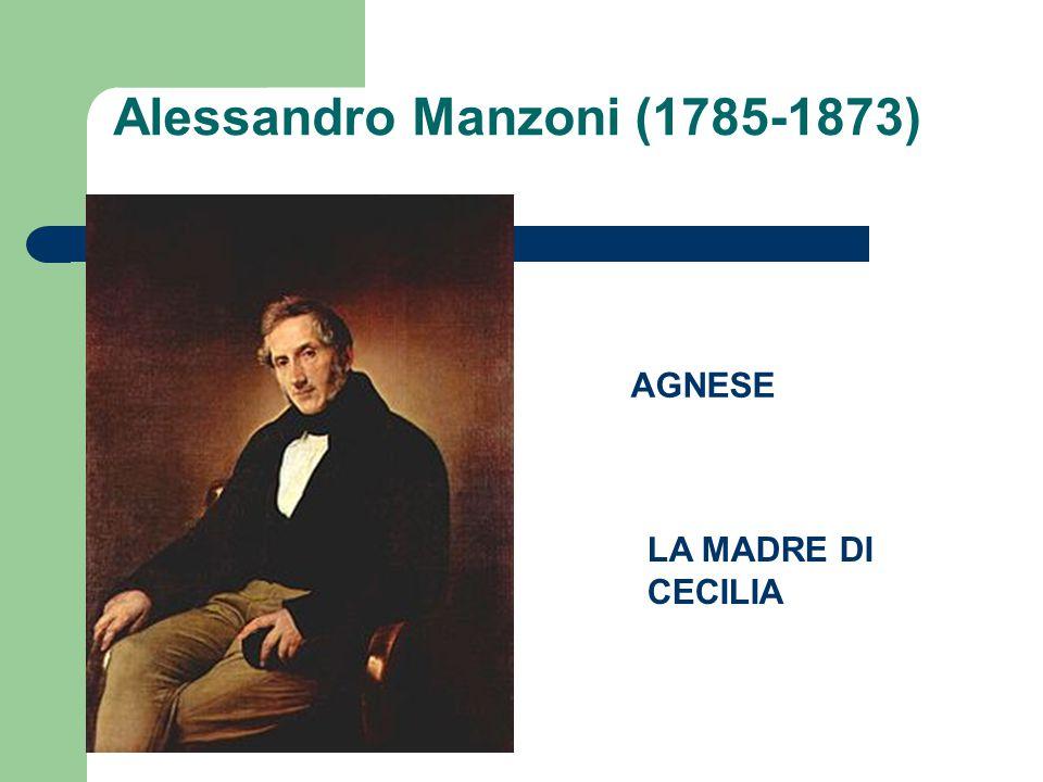 Alessandro Manzoni (1785-1873)