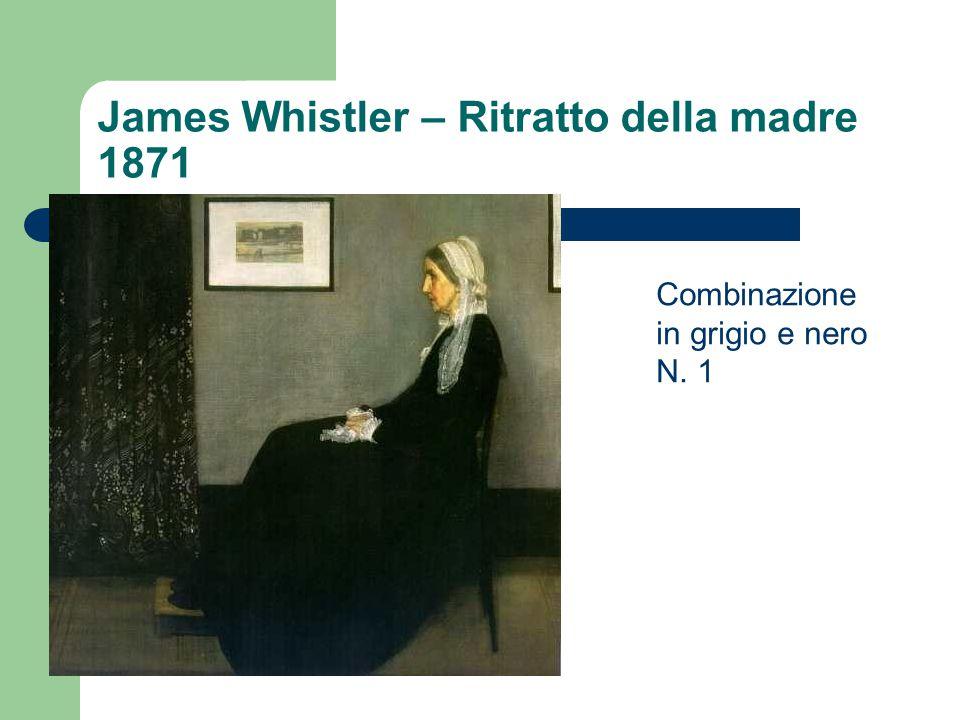 James Whistler – Ritratto della madre 1871